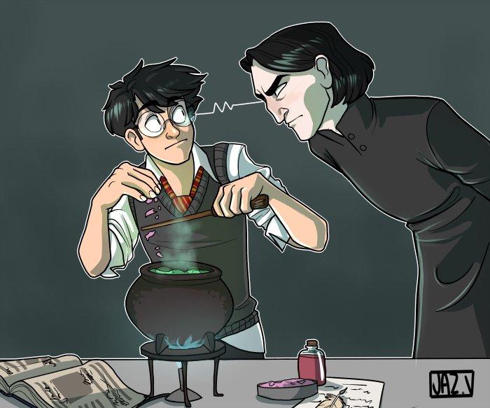 Harry Potter BlogHogwarts Fan Art Severus Snape (22)