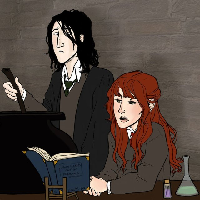 Harry Potter BlogHogwarts FanArt Severus Snape (2)