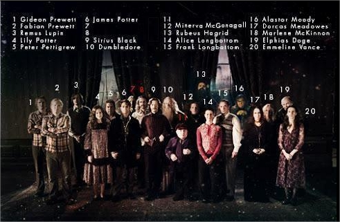 Harry Potter BlogHogwarts Orden del Fenix Original
