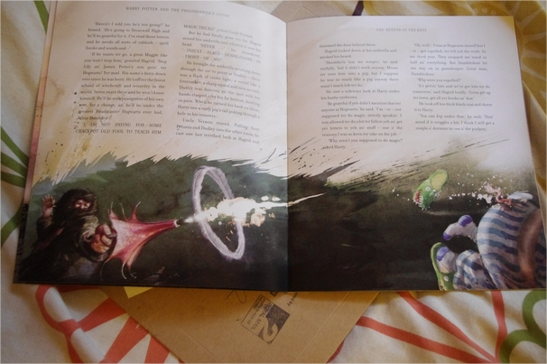 Harry Potter BlogHogwarts Piedra Filosofal Ilustrado (6)