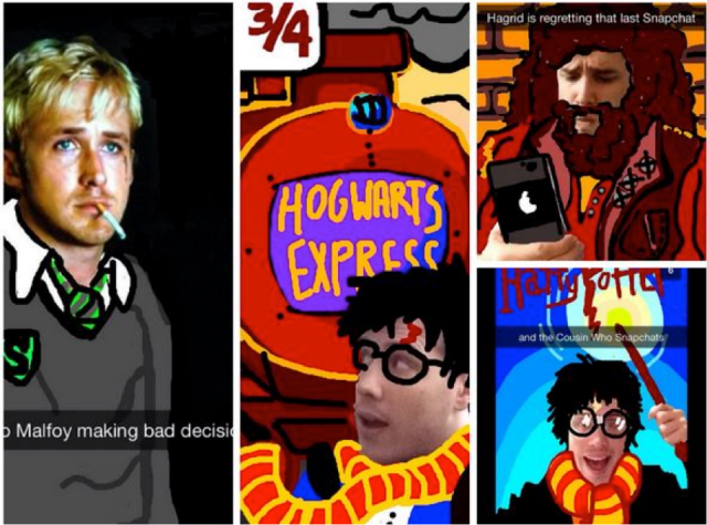 Harry Potter BlogHogwarts Snapchat (1)