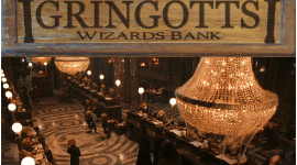 Si Harry Potter usara Bitcoin