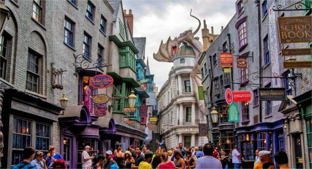Harry Potter BlogHogwarts Callejon Diagon Record