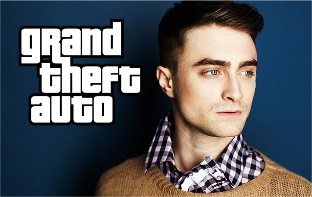 Harry Potter BlogHogwarts Daniel Radcliffe Grand Theft Auto