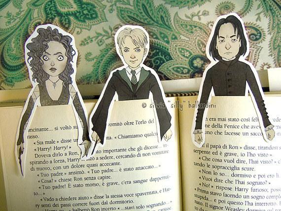 Harry Potter BlogHogwarts Marcador Libro (12)