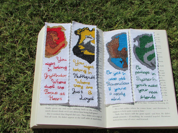 Harry Potter BlogHogwarts Marcador Libro (18)