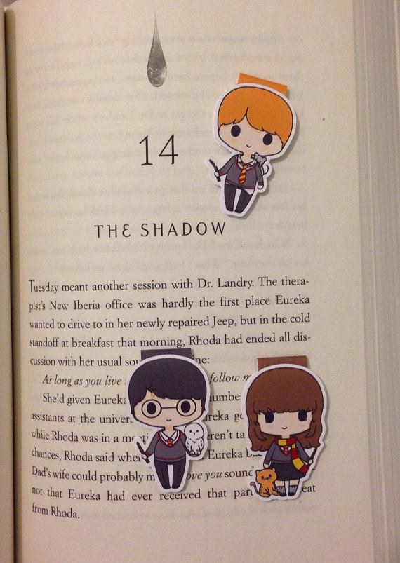 Harry Potter BlogHogwarts Marcador Libro (19)