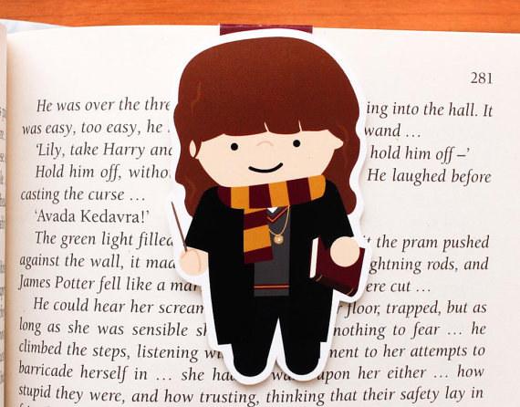 Harry Potter BlogHogwarts Marcador Libro (2)
