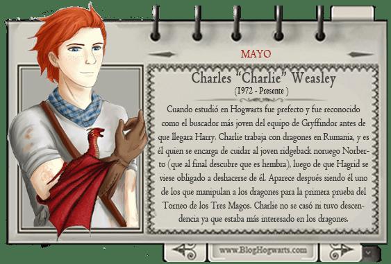 Mago mes Mayo Charlie Weasley