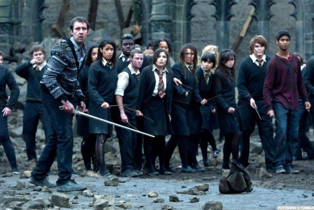 batalla de hogwarts
