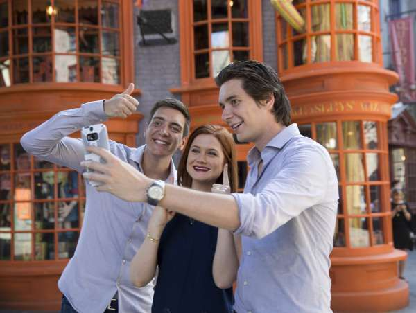 selfie callejon diagon