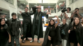 Video: Flashmob Batalla de Hogwarts 2015 en Perú