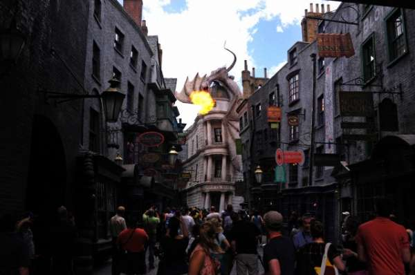 Harry Potter BlogHogwarts Callejon Diagon 3D