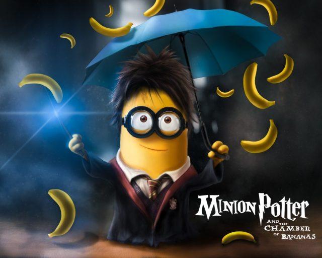 harry potter y la camara de las bananas