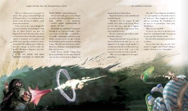 Harry Potter BlogHogwarts Piedra Filosofal Ilustrado 02