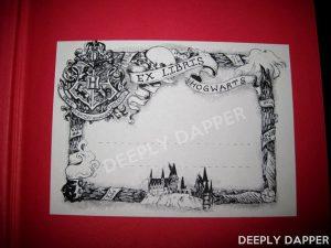 ex libris hogwarts