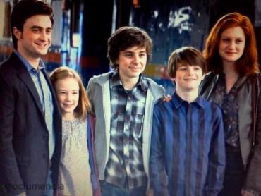 James Sirius Potter empieza su primer año en Hogwarts