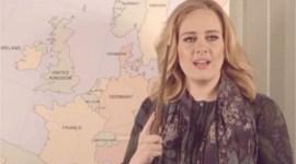 Adele anuncia su gira Europea actuando como Harry Potter