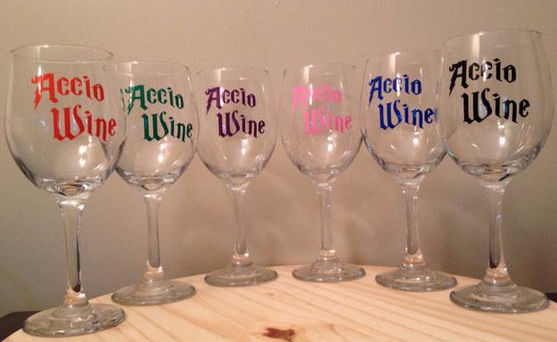 accio vino potter