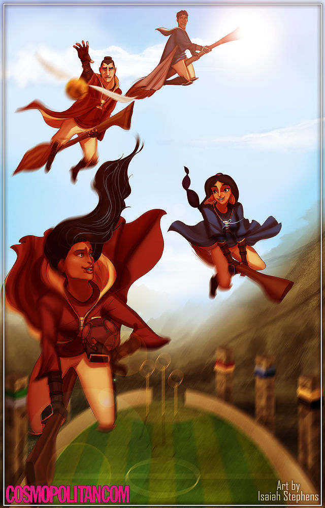 disney+characters+in+hogwarts+01