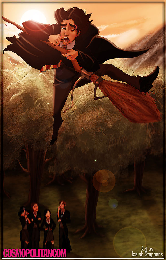disney+characters+in+hogwarts+02