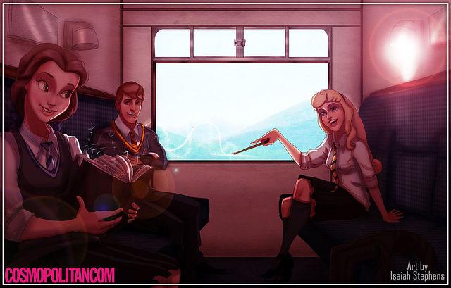 disney+characters+in+hogwarts+06