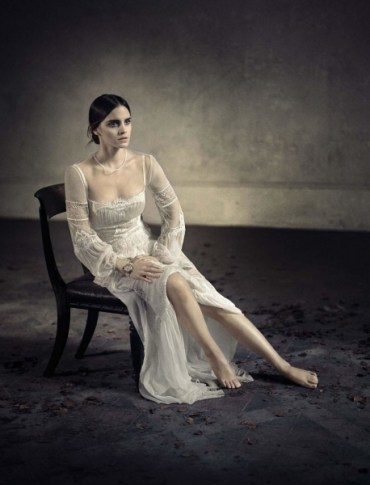 Sesión de fotos de Emma Watson para Vogue Italia