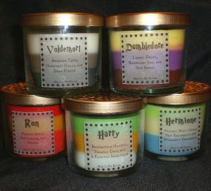 velas de harry potter