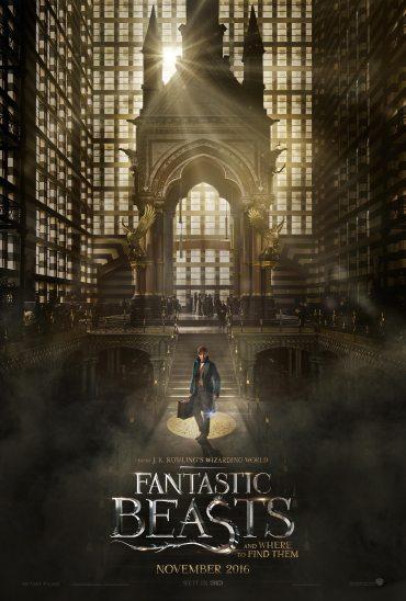 Revelado primer poster oficial de 'Animales Fantásticos y dónde Encontrarlos'!