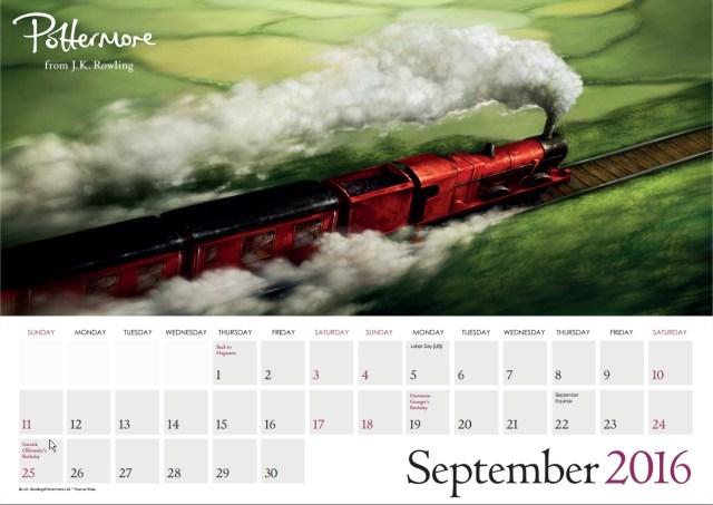 Harry Potter BlogHogwarts Pottermore Calendario 2016 (10)