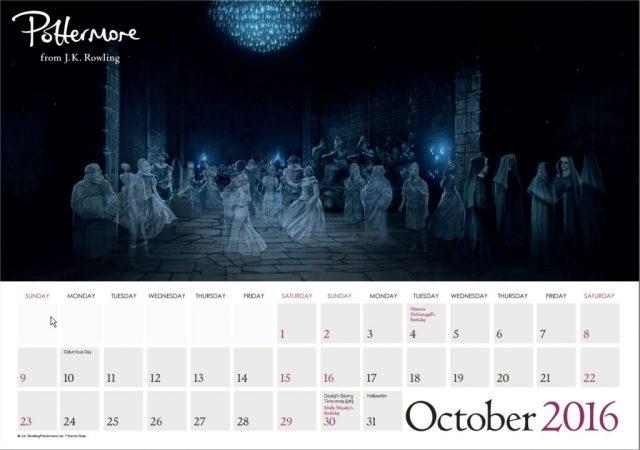 Harry Potter BlogHogwarts Pottermore Calendario 2016 (11)