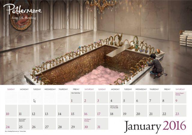Harry Potter BlogHogwarts Pottermore Calendario 2016 (2)