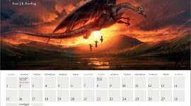 Comienza el 2016 descargando el calendario oficial de Pottermore!