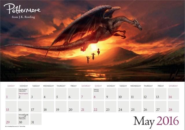 Harry Potter BlogHogwarts Pottermore Calendario 2016 (6)