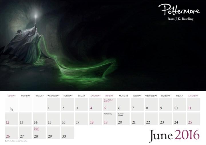 Harry Potter BlogHogwarts Pottermore Calendario 2016 (7)