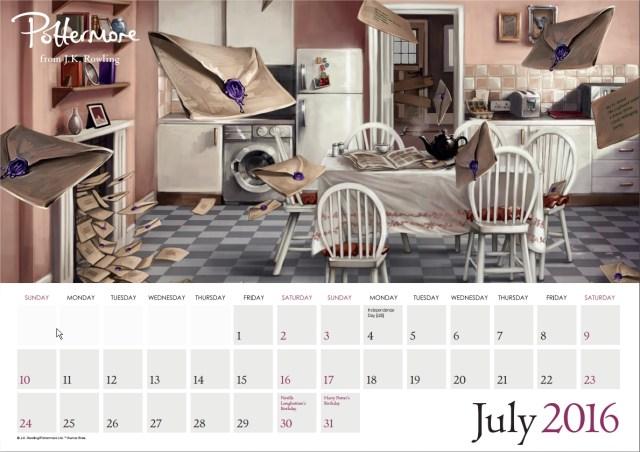Harry Potter BlogHogwarts Pottermore Calendario 2016 (8)