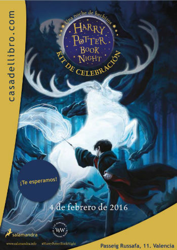 Harry Potter Book Night 2016 en Casa del Libro, España