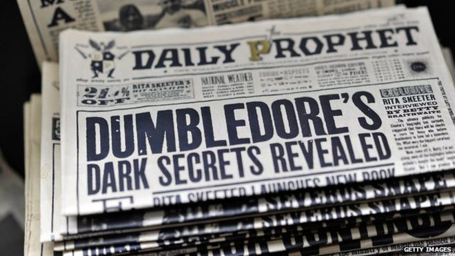 harry potter periodico