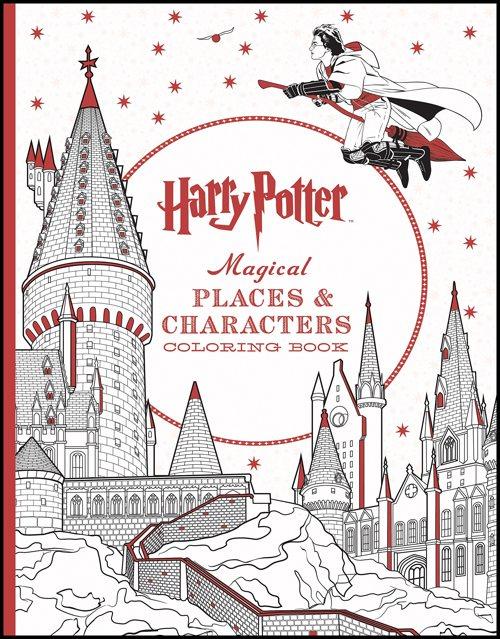 Harry Potter BlogHogwarts Libros Colorear 3