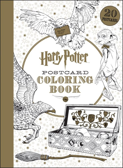 Harry Potter BlogHogwarts Libros Colorear 5