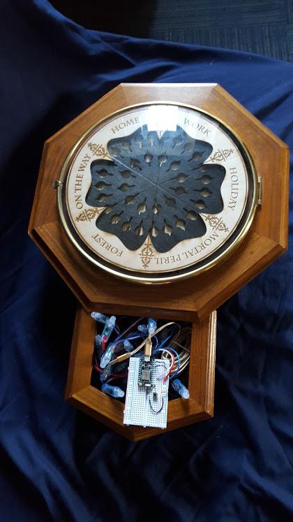 Harry Potter BlogHogwarts Reloj Weasley (3)