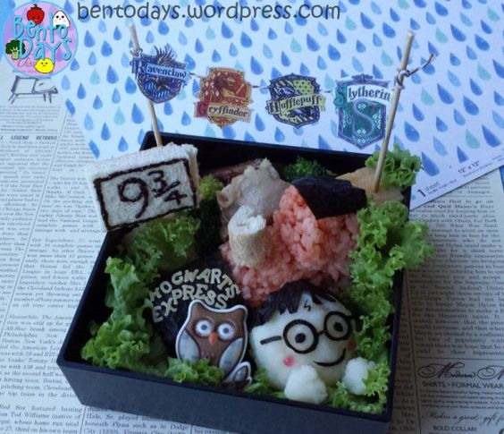 harry potter bento 2
