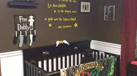 ¿Tienes o esperas un bebé? Mira cómo decorar su habitación inspirada en Harry Potter!