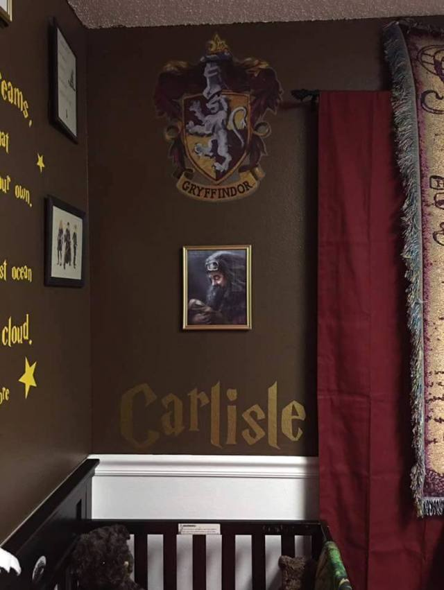 Harry Potter BlogHogwarts Habitacion Bebe (3)