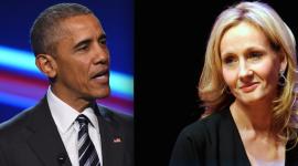 JK Rowling asiste a cena privada con Barack Obama en Londres