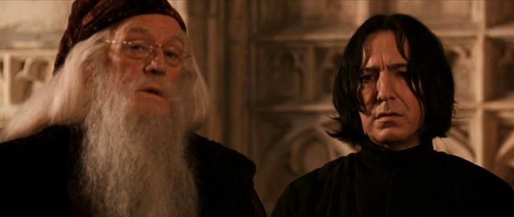dumbledore snape