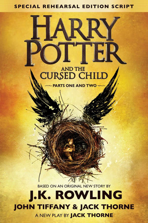 Portada Harry Potter and the Cursed Child