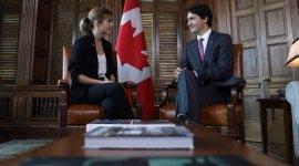 Emma Watson se reunió con el primer ministro de Canadá