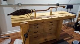 Mira esta increíble Nimbus 2000 hecha a mano