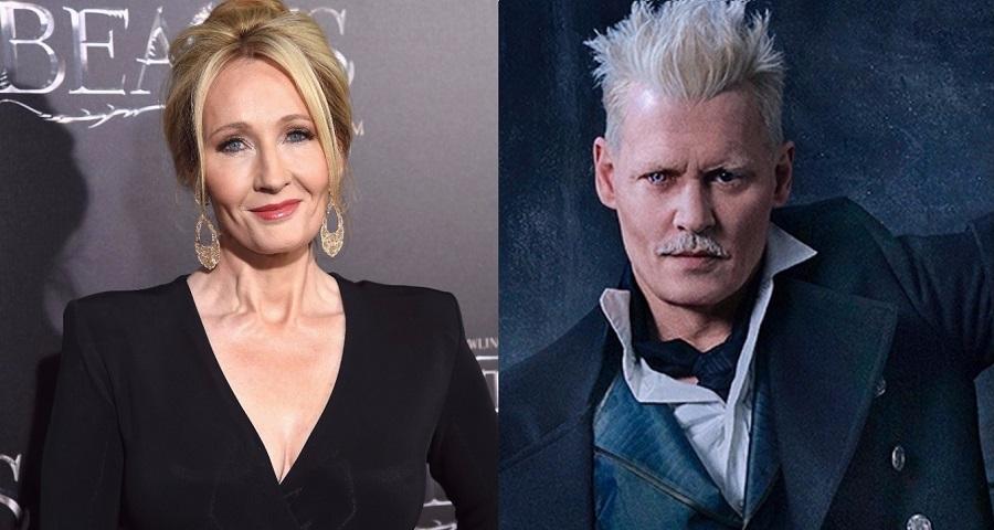 JKR habla oficialmente tras la polémica de Johnny Depp en 'Animales Fantásticos'